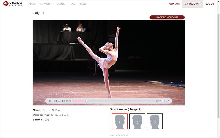 Video Judge Online Sample